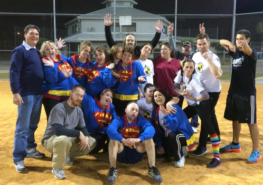 Chiropractic Panama City FL kickball team